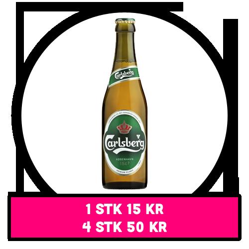 Carlsberg flaskeøl